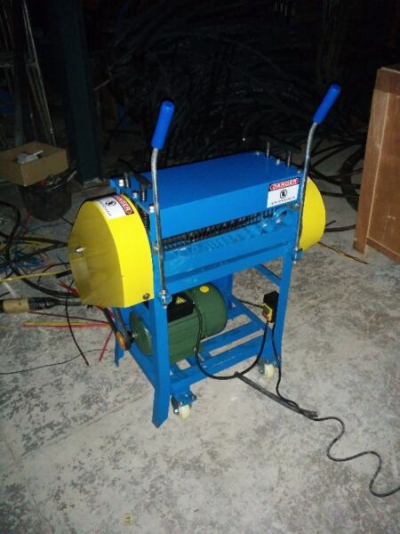 Recycling Copper Cable Wire Stripping Machine - NEW