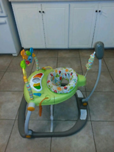 2 sit to stand baby bouncer/activity center.    $20 each