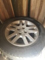 4 Used Honda Rims and Tires