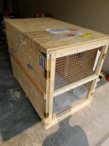 Large dog crate - airline worthy