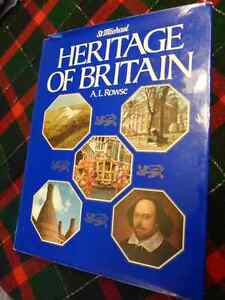 Heritage of Britain By A. L. Rowse - Hardcover with Dust Jacket