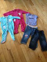 Petit lot vêtements fille 12-18 mois