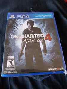 Uncharted 4 a thiefs end ps4 sealed