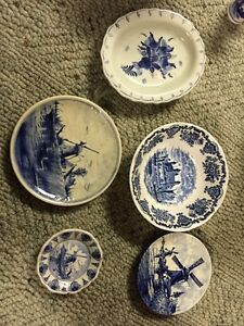 Various Delphi blue collector plates Peterborough Peterborough Area image 1