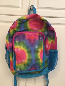 Kids Tie Dye Design Backpack - Like NEW