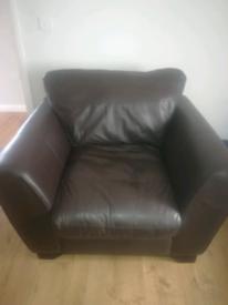 Massive arm chair