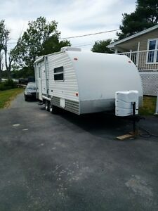 2007 Cafe Wedge 20ft. Travel Trailer