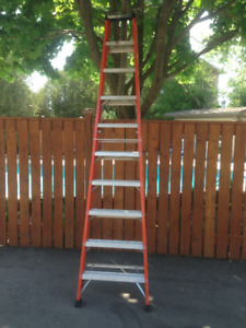 10 Feet Tall Step Ladders for Sale -- BRAND NEW and Only 3 Left