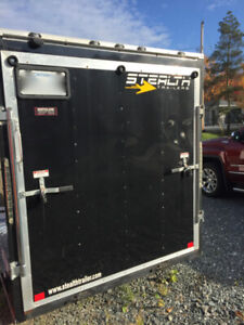 2017 Stealth Mustang enclosed cargo trailer