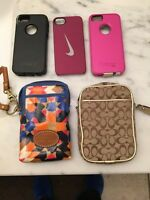 iPhone 5 cases/wallets