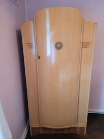 Retro Dependable tallboy/ single wardrobe