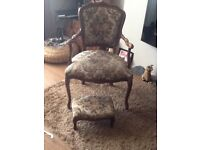Chair and foot sool