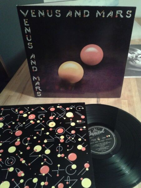WINGS - Venus and Mars ,75 lp UK