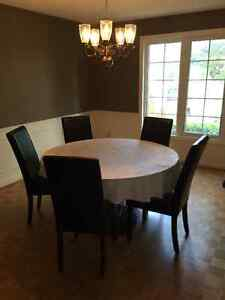 Elegant Glass Dining Room Table London Ontario image 3