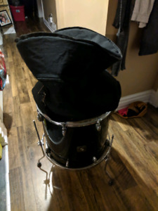 "Gretsch 16"" floor tom with dyna-mount system"