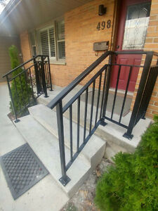 Custom Metal Railing, Gates,Install, Repair, Mobile Welding London Ontario image 3