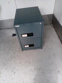 2 draw filing cabinet