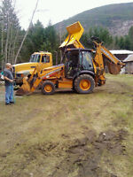Excavation Backhoe and gravel truck  services