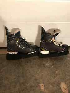 3 Pairs of Player Skates - Sizes 9.5, 10, & 10.5