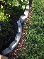 EDGING OR SCALLOP STONES WANTED