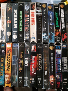 VHS Tapes for Sale. $1 each, better price if more than 10 bought