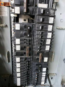 100 Amp used Electric Main Panel