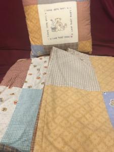 Teddy Bears Cushion & Blankets, frames, stuffed bears
