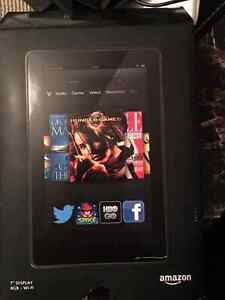 Kindle Fire with Dockreader