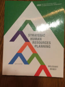 Strategic human resources planning, 6th Canadian edition