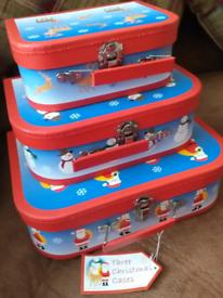 THREE CHRISTMAS CASES
