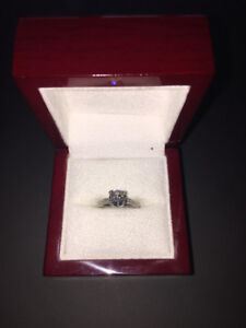 Diamond Engagement Ring and Wedding Band (2.15 Total Carats)