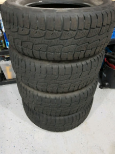 275/65/18 Truck/SUV All Terrain Tires