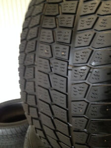 2  Goodyear  Winter  tires  245/55/18