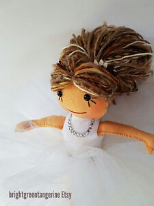"""Beautiful 10"""" Ballerina Dolls. Handcrafted in Canmore."""