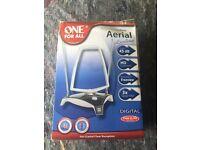 Amplified indoor aerial