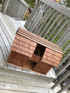 Doll play house (barn style), handmade, custom made. All wood.