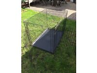 Extra large dog crate good condition