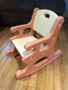 ❤️ Chaise berçante enfant LITTLE TIKES / Child rocking chair