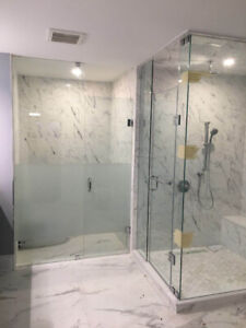 10mm Tempered Glass Shower Doors / Stair / Mirrors
