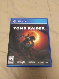 Shawdow of the Tomb Raider PS4