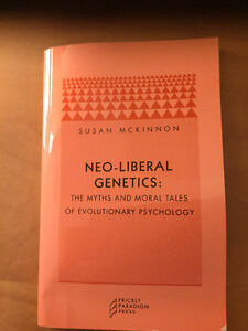 Neo-Liberal Genetics: Myths and Moral Tales by McKinnon