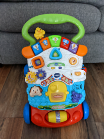 Baby walker and chair