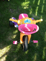 Dora Lights And Sounds Tricycle