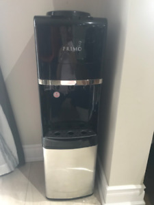 Free standing stainless steel Primo deluxe water cooler