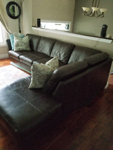 leather sectional couch for sale