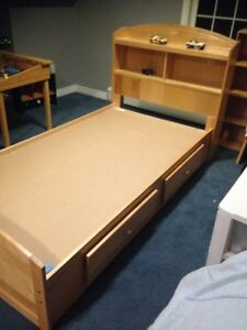 2 - Twin Captains beds $125 each or 2 for $200