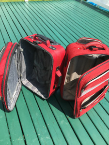Suit Cases Red