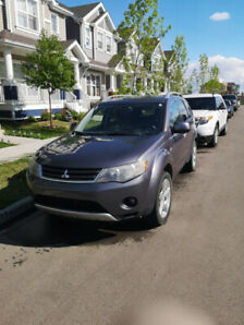 2008 Mitsubishi Outlander XLS NAVI DVD BT ***tow package**** 4WD