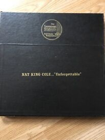 Nat King Cole vinyl collection