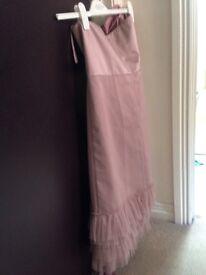 Braids maid dress
